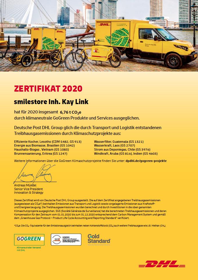 DHL-CO2-Zertifikat-2020