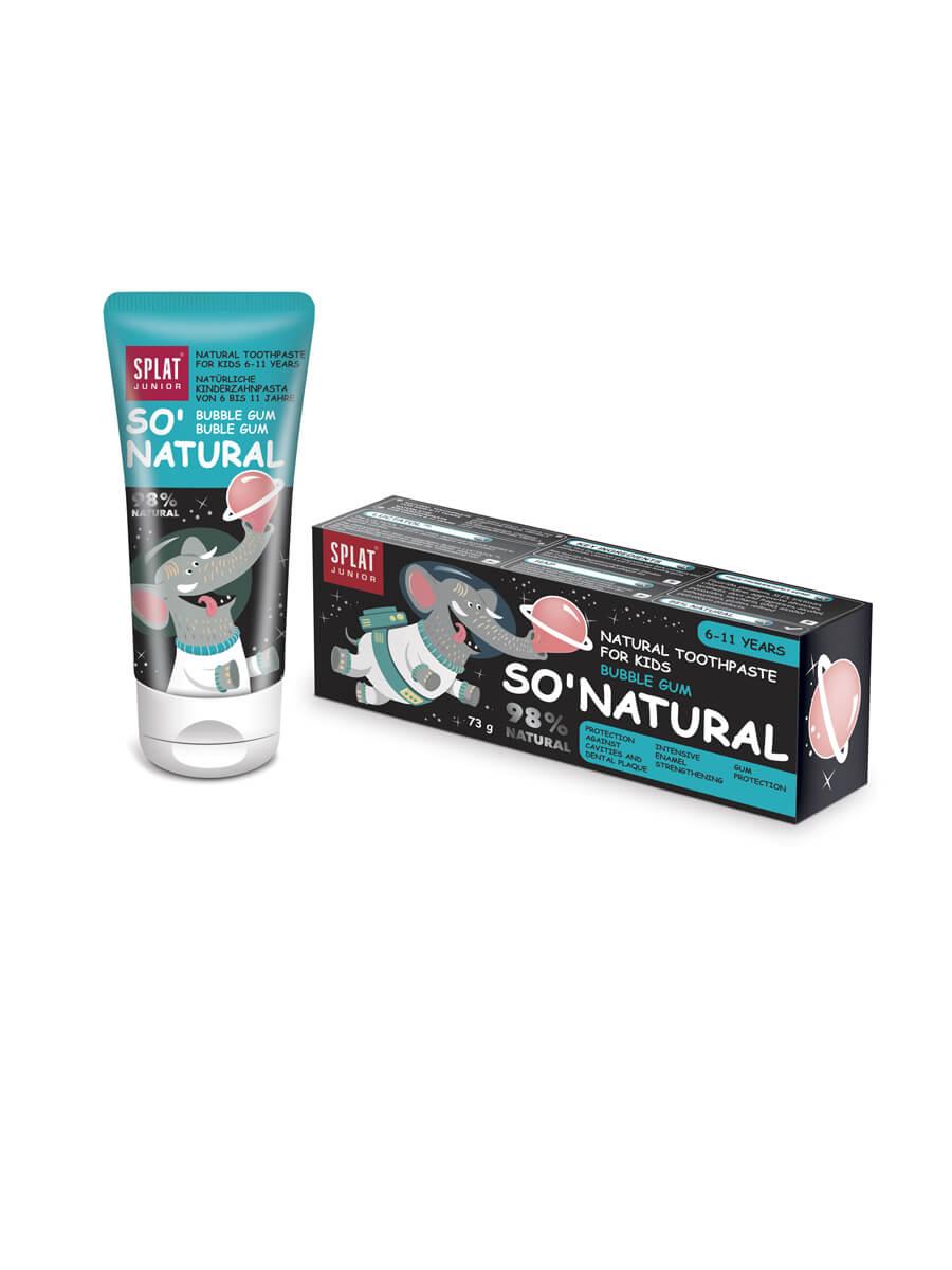 SPLAT Junior Bubble Gum natürliche Zahnpasta (6-11 Jahre)