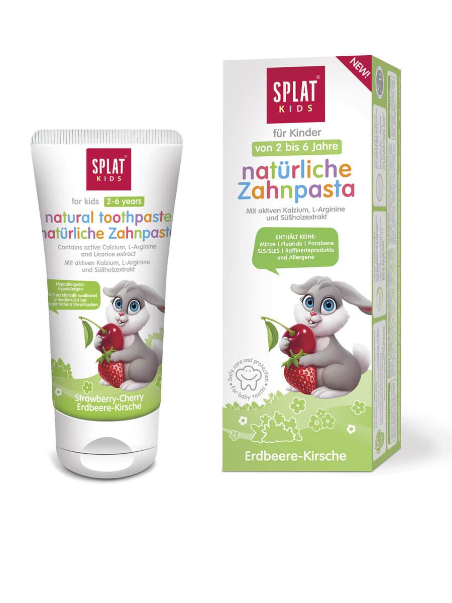 SPLAT KIDS natural children´s toothpaste Strawberry-Cherry