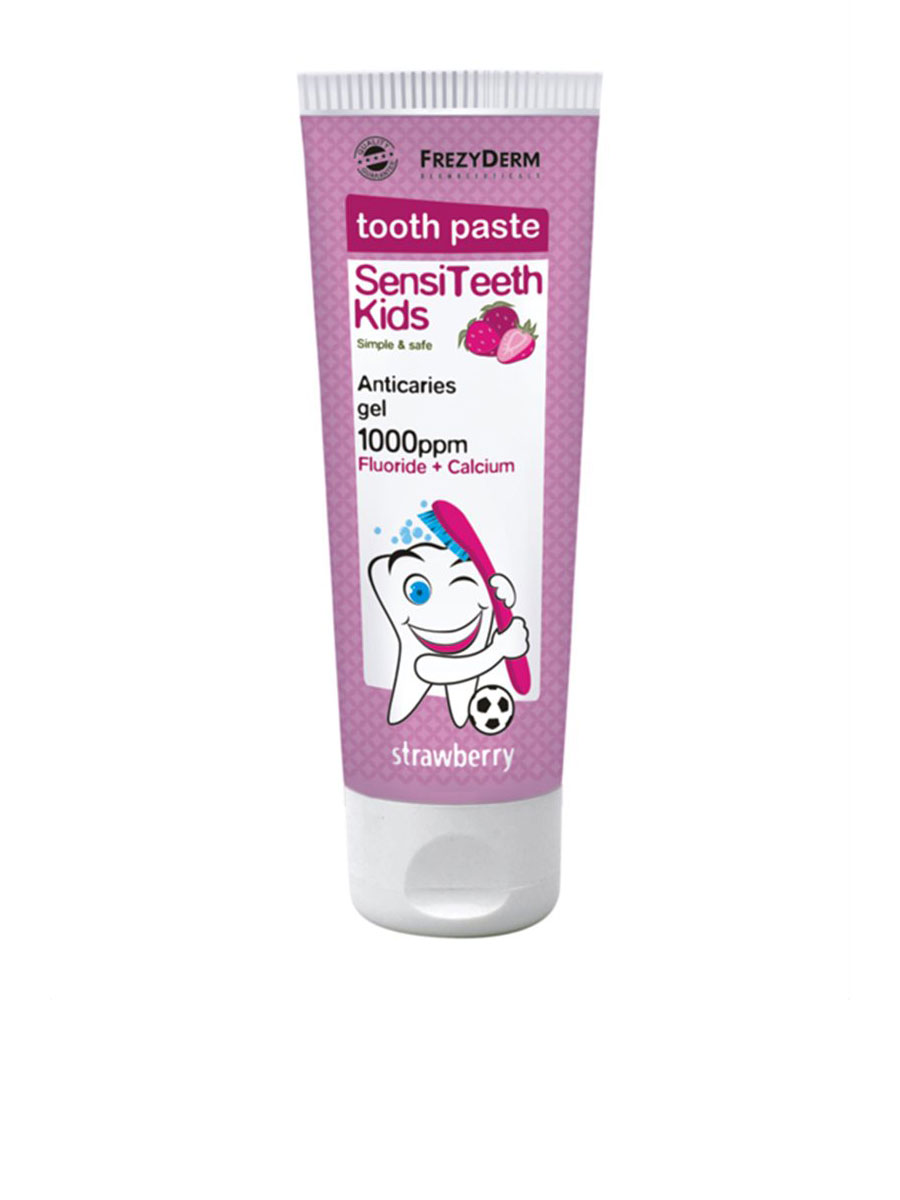 SENSITEETH Kids toothpaste with 1000 ppm fluoride