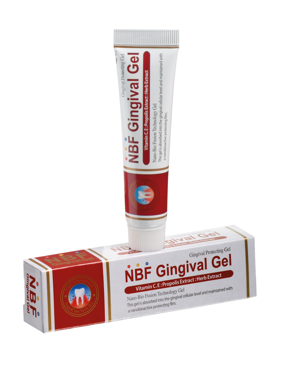 Gum gel for protection and healing of the oral mucosa