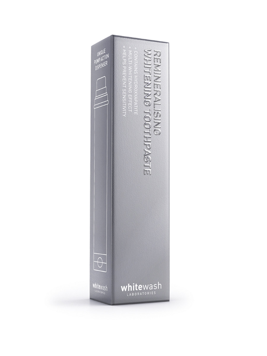 WhiteWash remineralisierende Whitening Zahnpasta