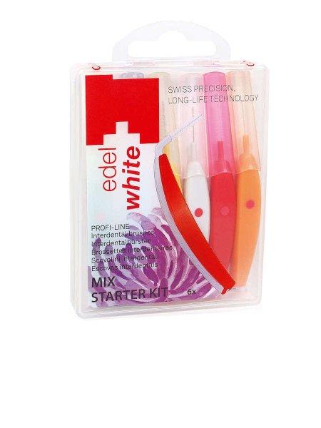 edel + white Interdental brushes Starter Kit
