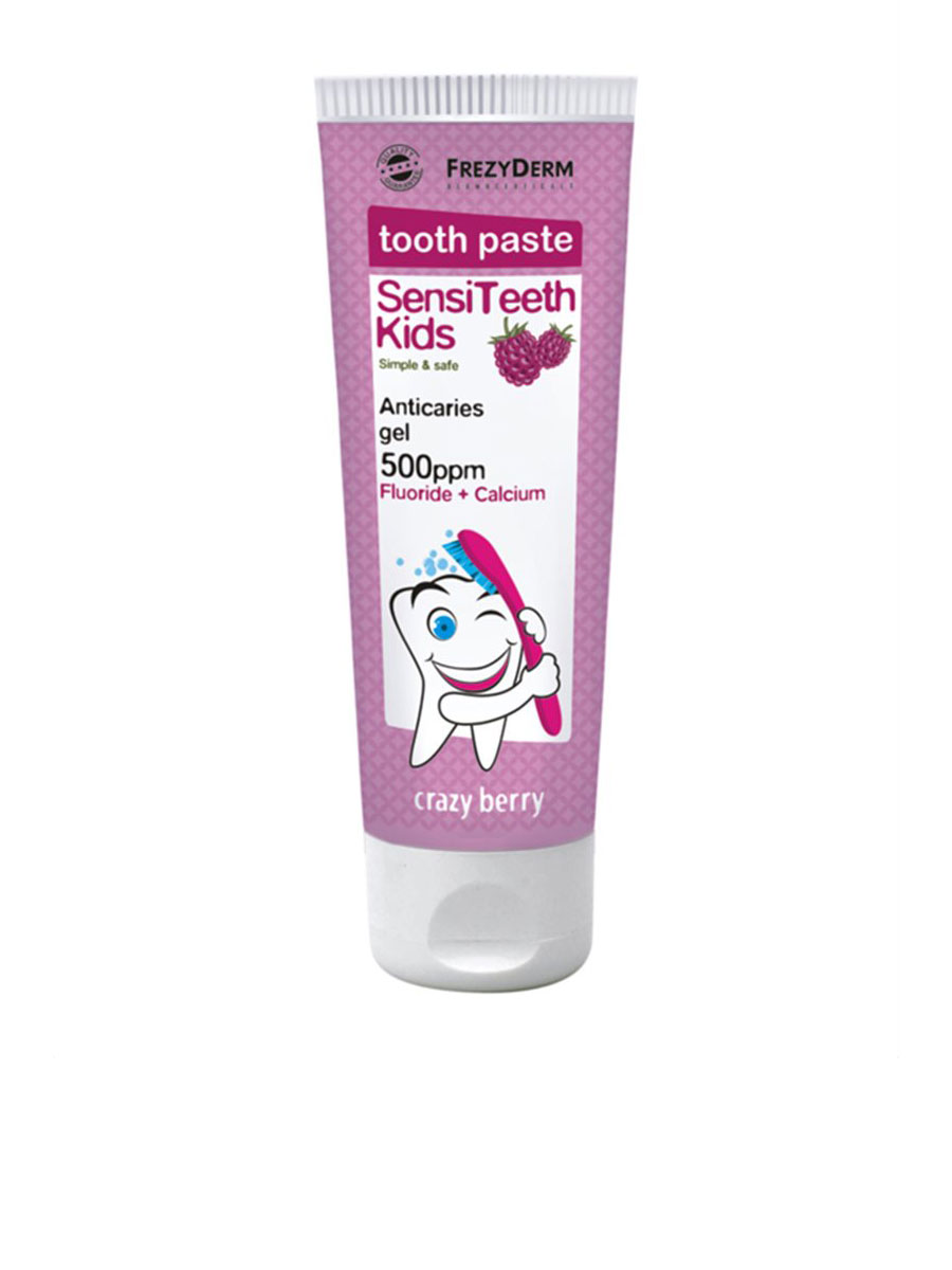 SENSITEETH Kids toothpaste with 500 ppm fluoride