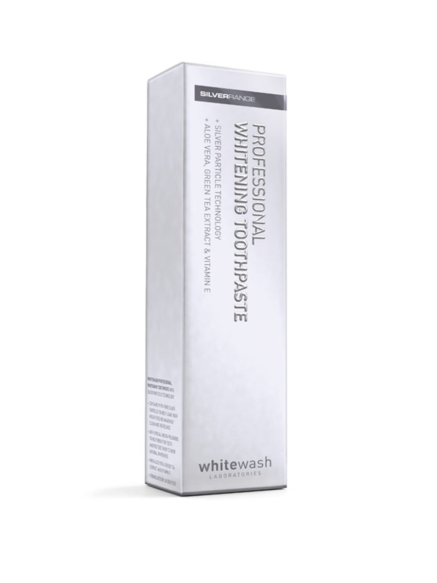WhiteWash Silver Particle Whitening Zahnpasta