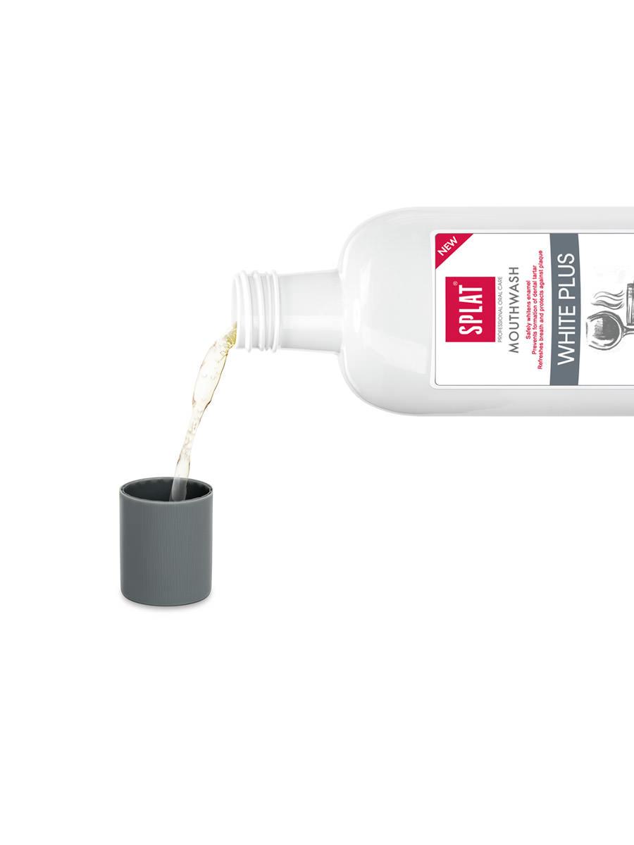 Splat White Plus Mundspülung ohne Fluorid