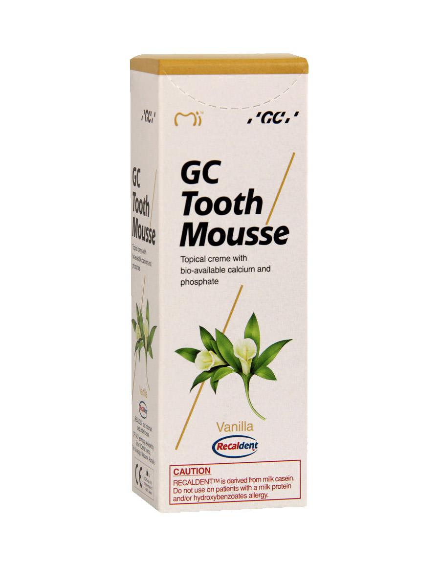 GC Tooth Mousse Vanille Zahnpasta