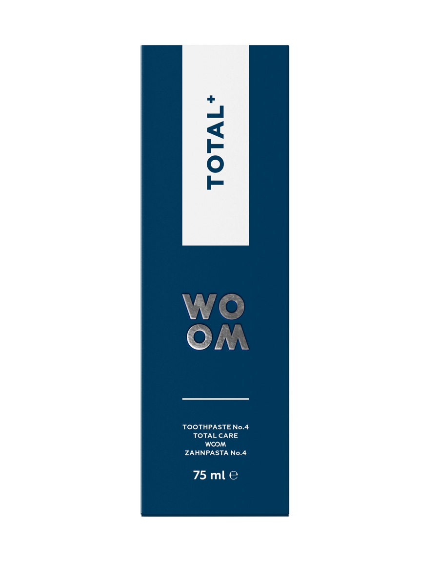 WOOM TOTAL+ Total Care Toothpaste