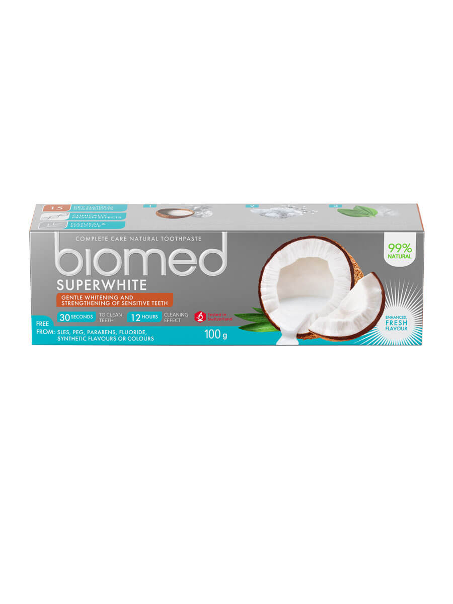 biomed Superwhite Kokosöl Zahnpasta