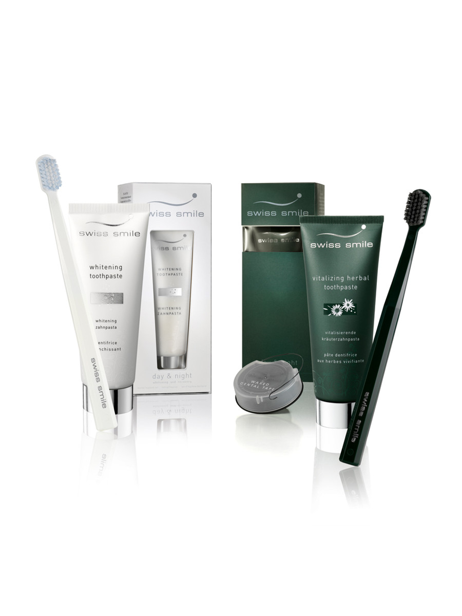 swiss smile Day & Night Whitening und Repair Set