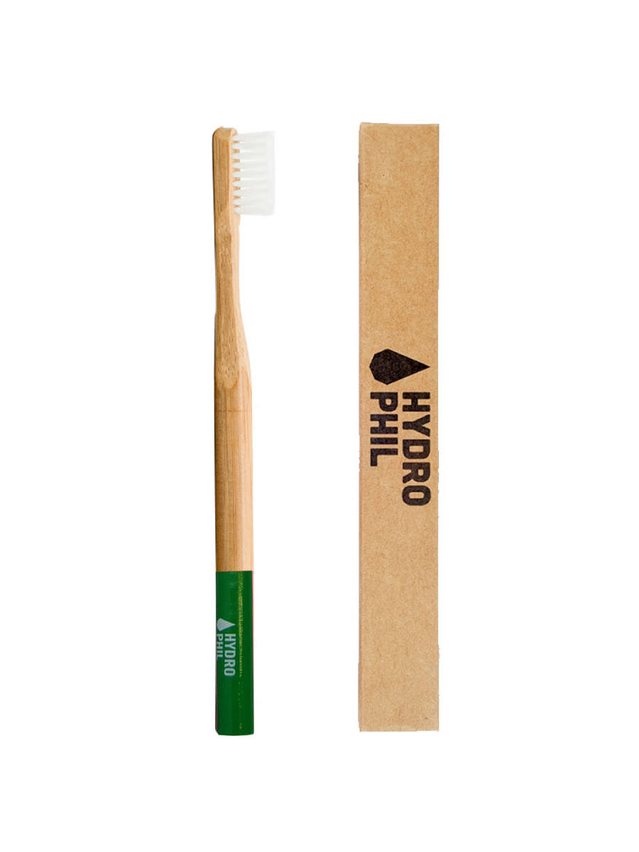 Hydrophil sustainable toothbrush GREEN medium