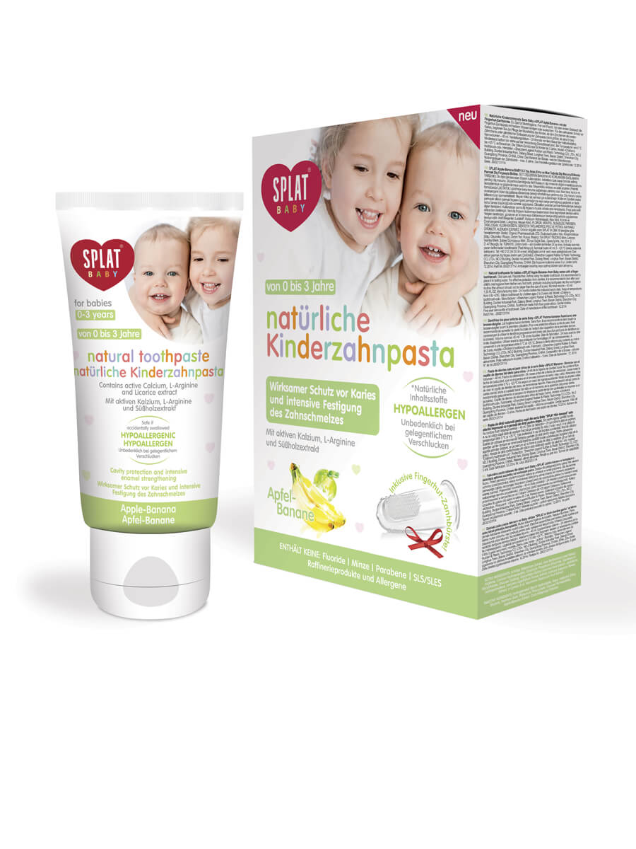 SPLAT BABY natural children´s toothpaste Apple-Banana